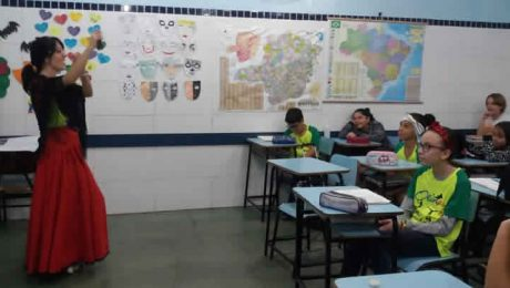 Colégio Fas - Cesaria - Aula de Cultura Espanhola