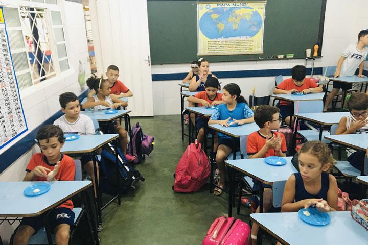 Colégio Fas - Cesaria - Oficina de Catrina Mexicana